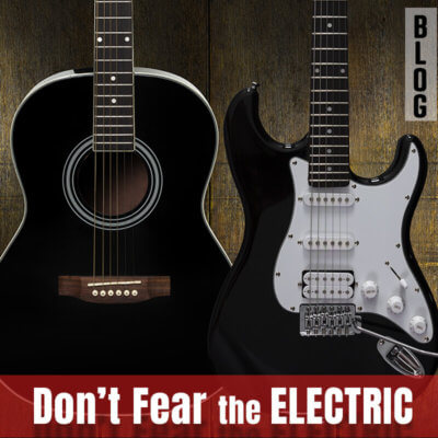 The Electric Guitar is too Intimidating…