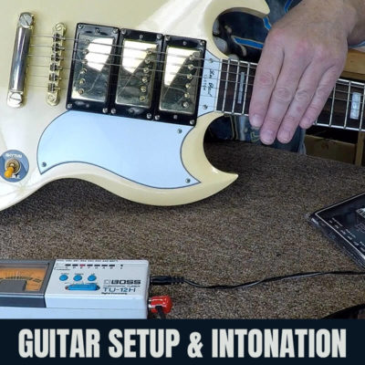 Guitar Setup & Intonation